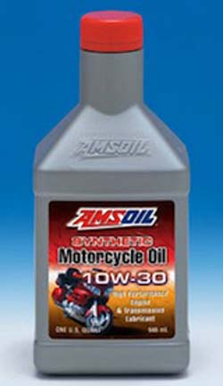 amsoil motorcycle oil